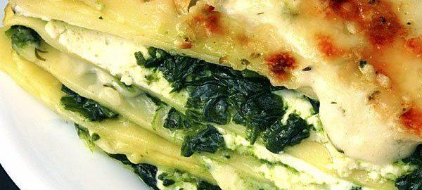 Lasaña de verduras para la dieta dukan