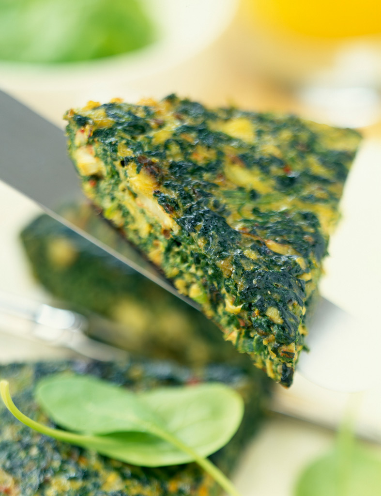 Quiche de verduras para la dieta dukan