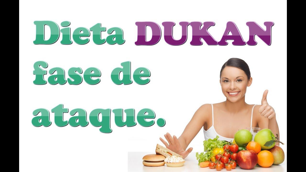 ¿Cuánto dura la fase de ataque de la dieta Dukan?
