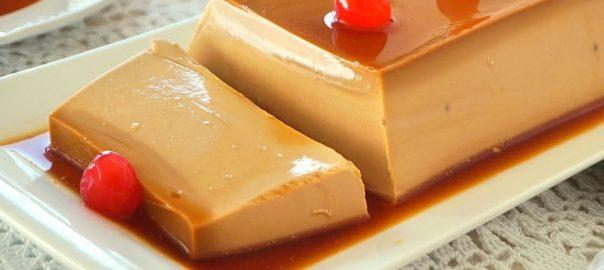 Flan de queso para la fase de ataque Dukan