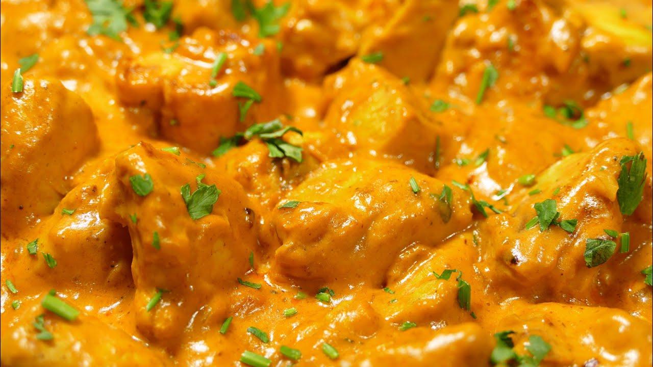 Pollo al curry (dieta Dukan fase ataque)