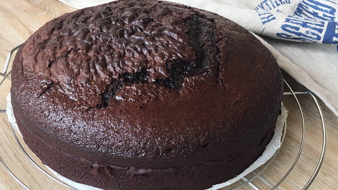 Torta de chocolate Dukan al microondas